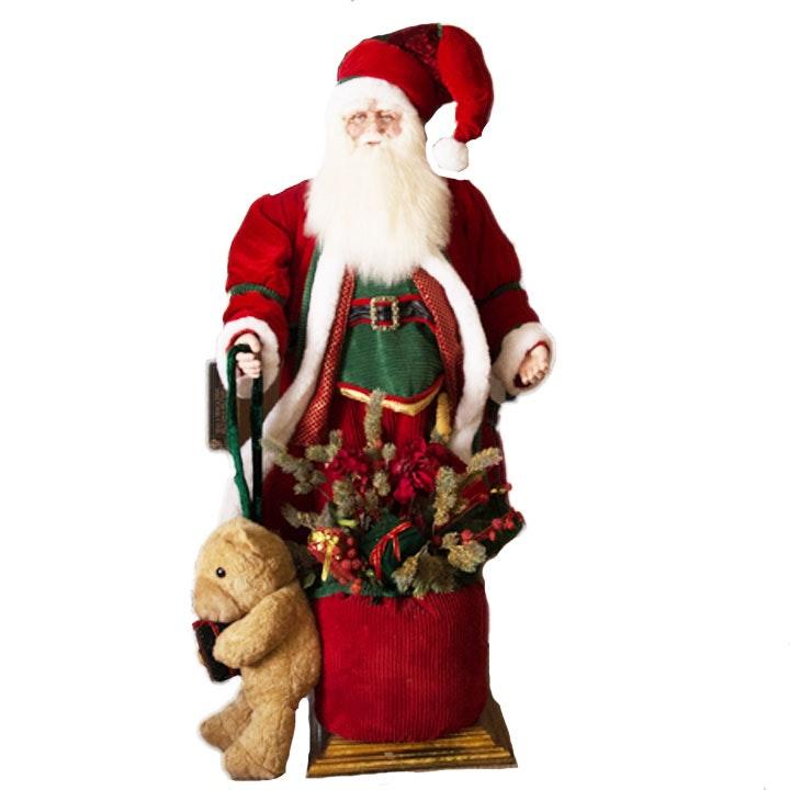 Decorative Life-Size Santa Claus