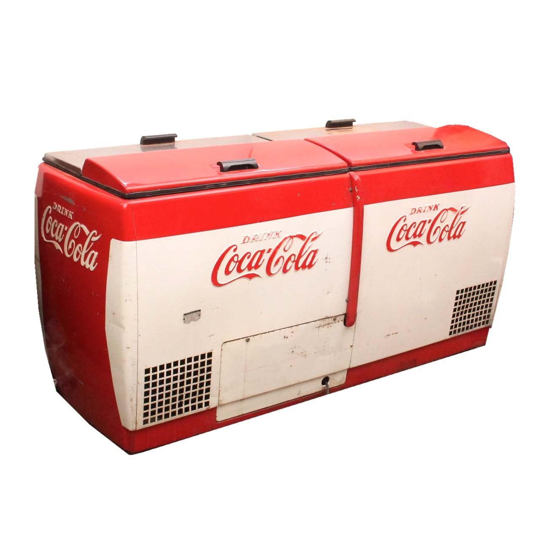 Vintage Coca-Cola Cooler