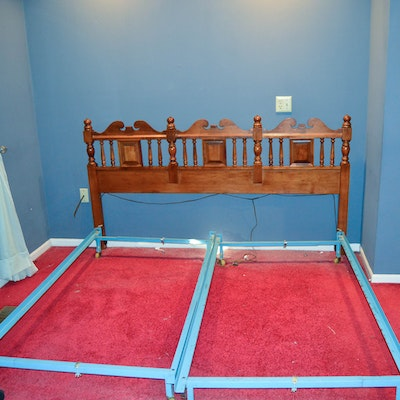 Vintage Bed Auction Used Beds And Bedding For Sale Ebth