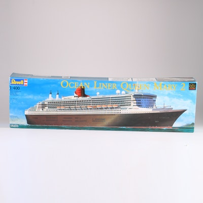 Vintage Model Auctions Vintage Model Kits For Sale In - Cruise ship model kits