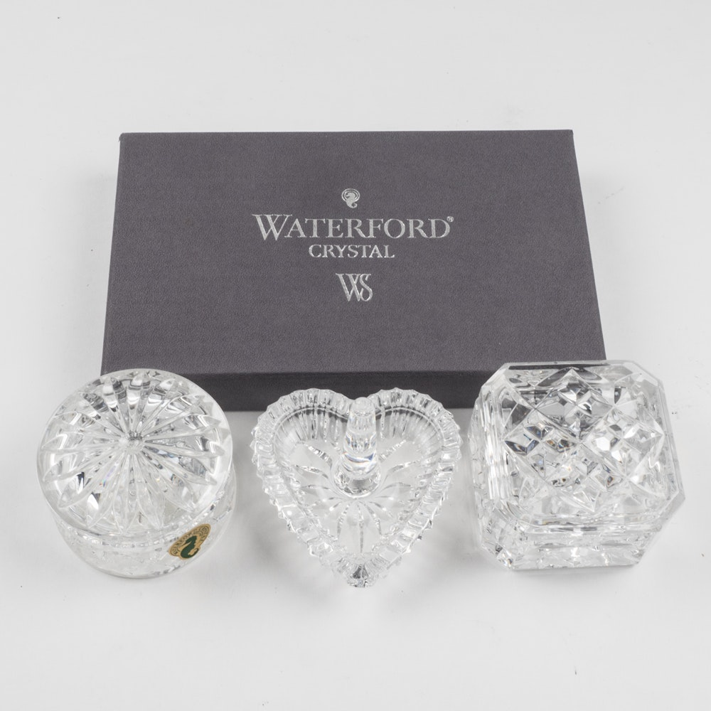 Waterford Crystal Trinket Dishes