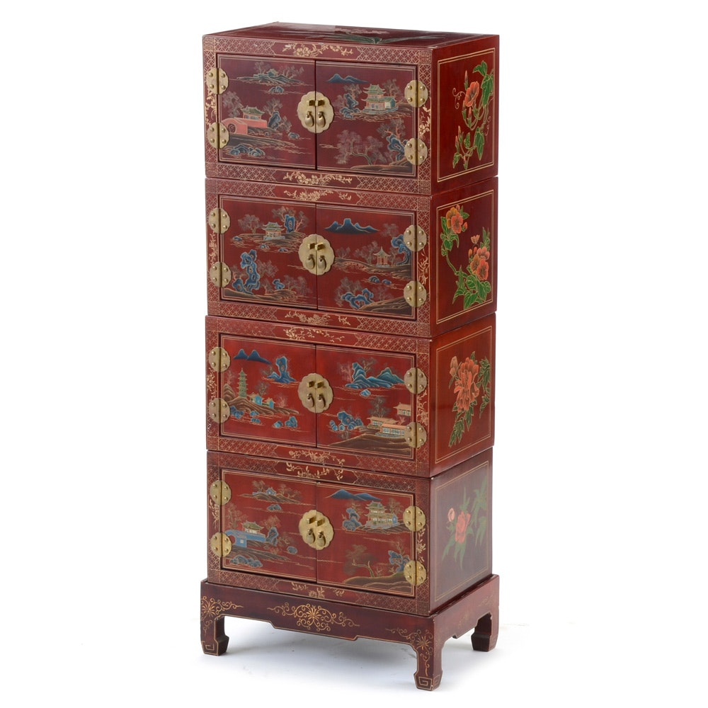 Stackable Chinese Cabinets; 1x1 ...