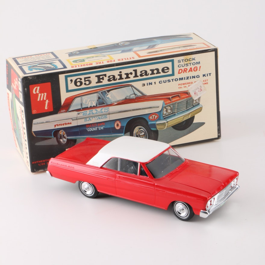 AMT 1965 Ford Fairlane Completed Model Kit with Original Box