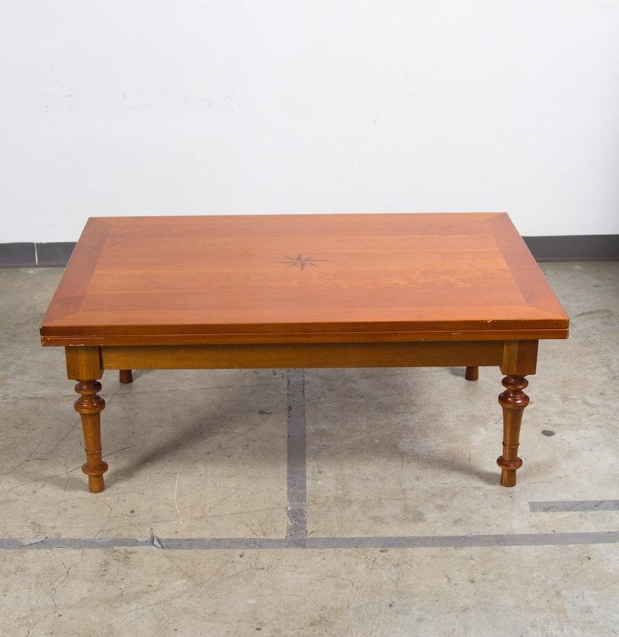 Arhaus Folding Top Coffee Table Ebth