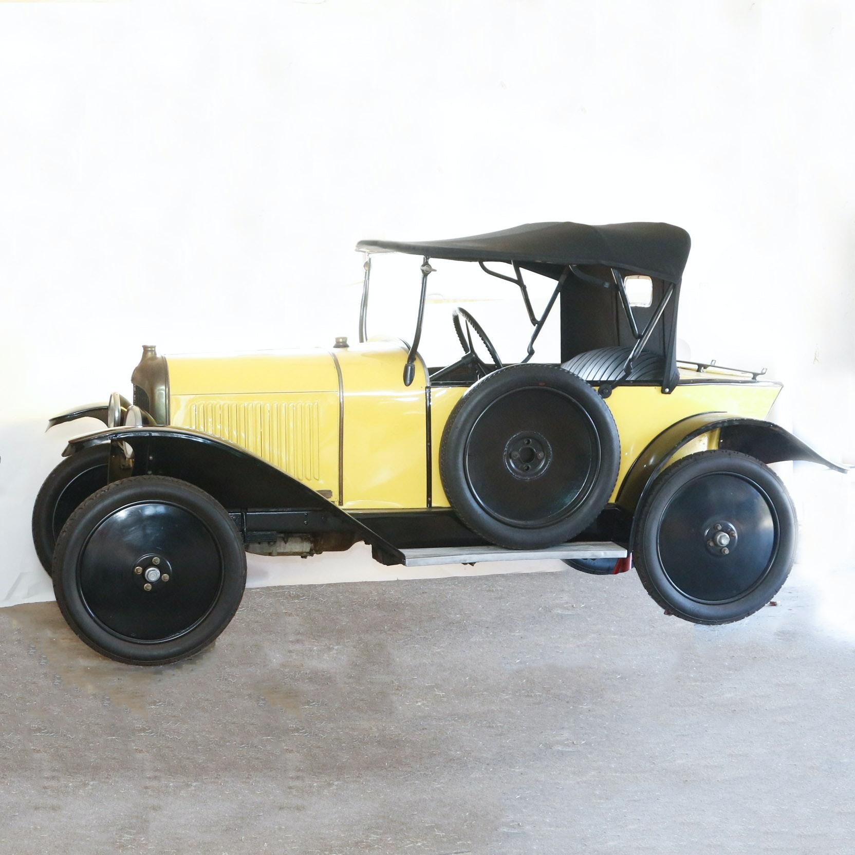 1922 Citroën 5-CV Torpedo Cabriolet