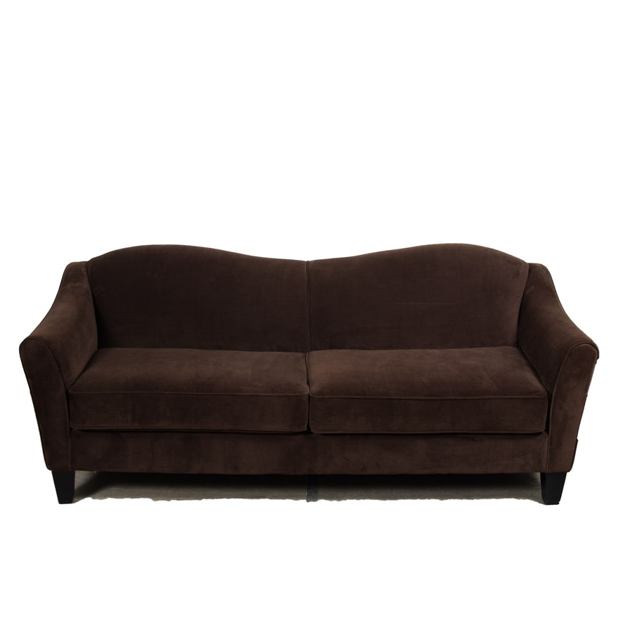 Reverse Camel Back Sofa Carnahan Traditional Sofa With
