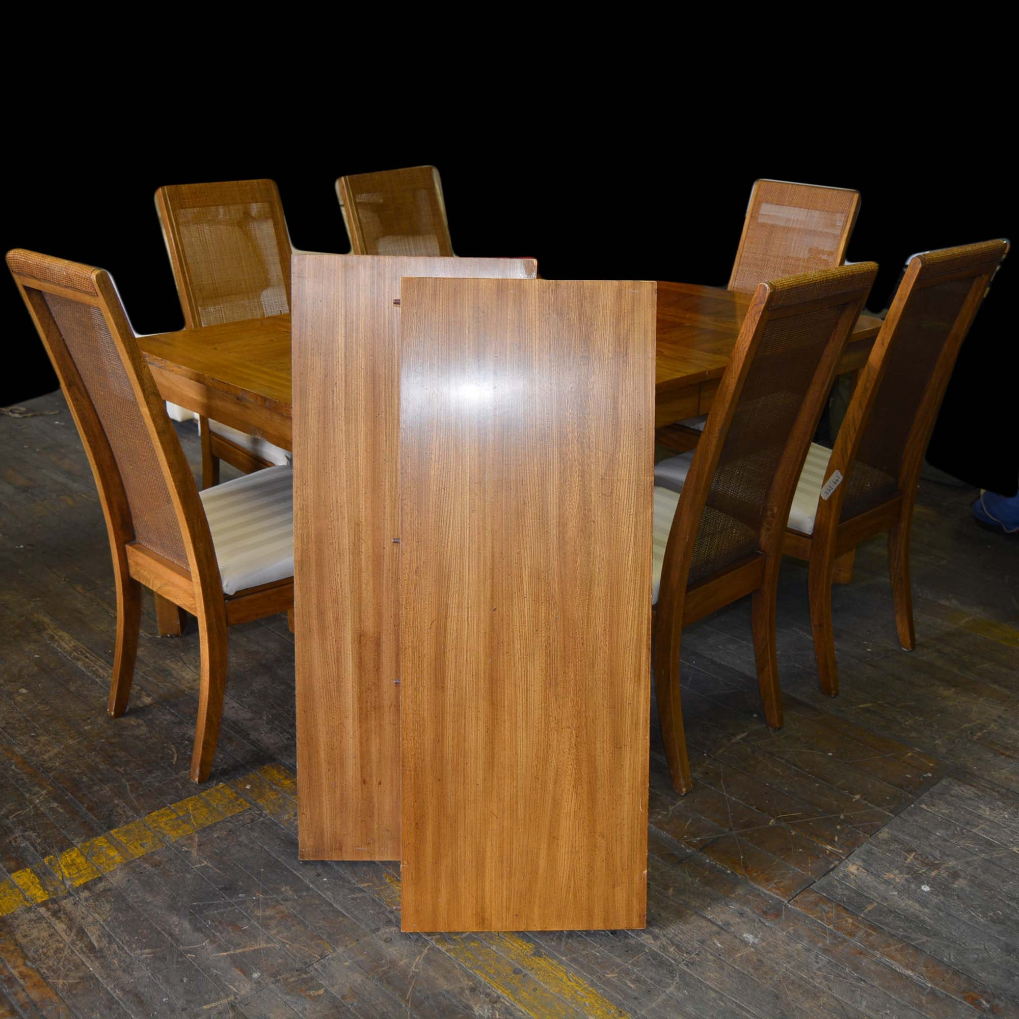 Oak Dining Table and Chairs from American Furniture Co.