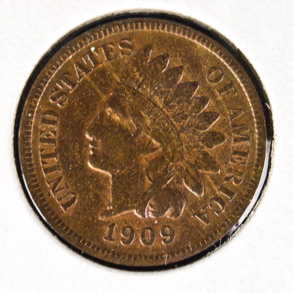 1909-S Indian Head Cent