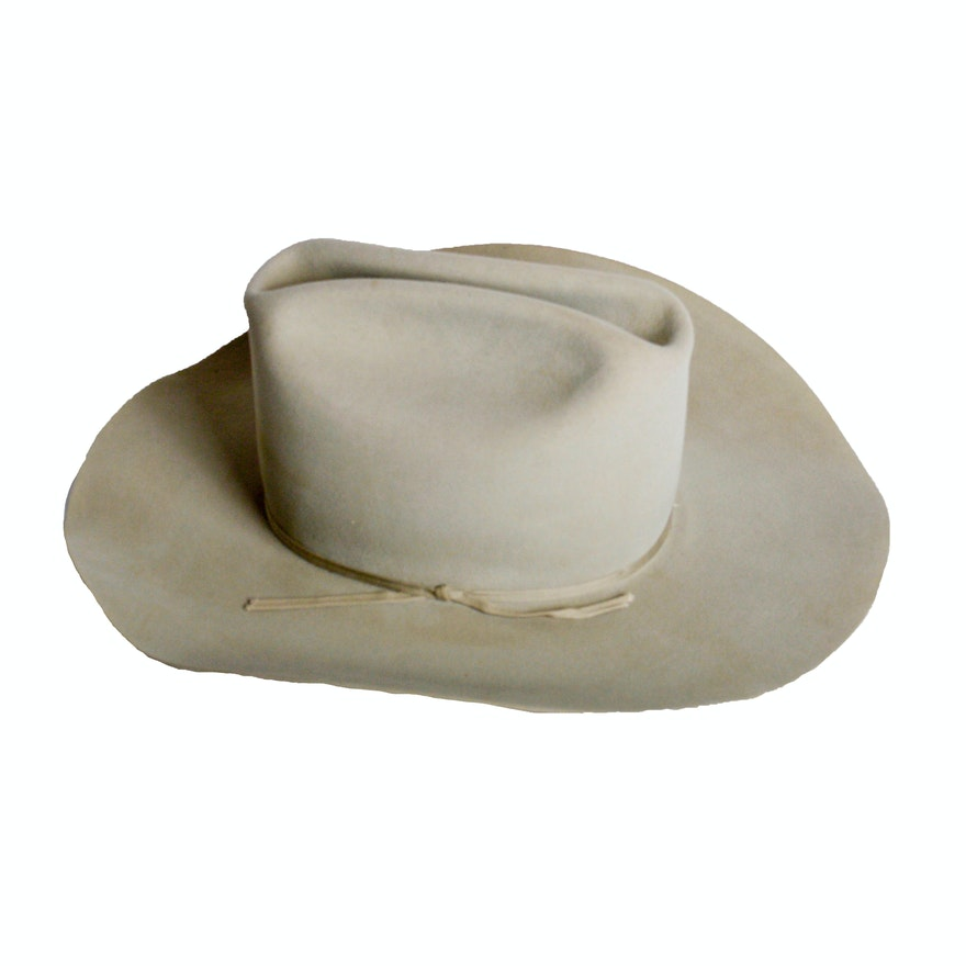 ea759e2c1467e Resistol Western Beaver Cowboy Hat   EBTH