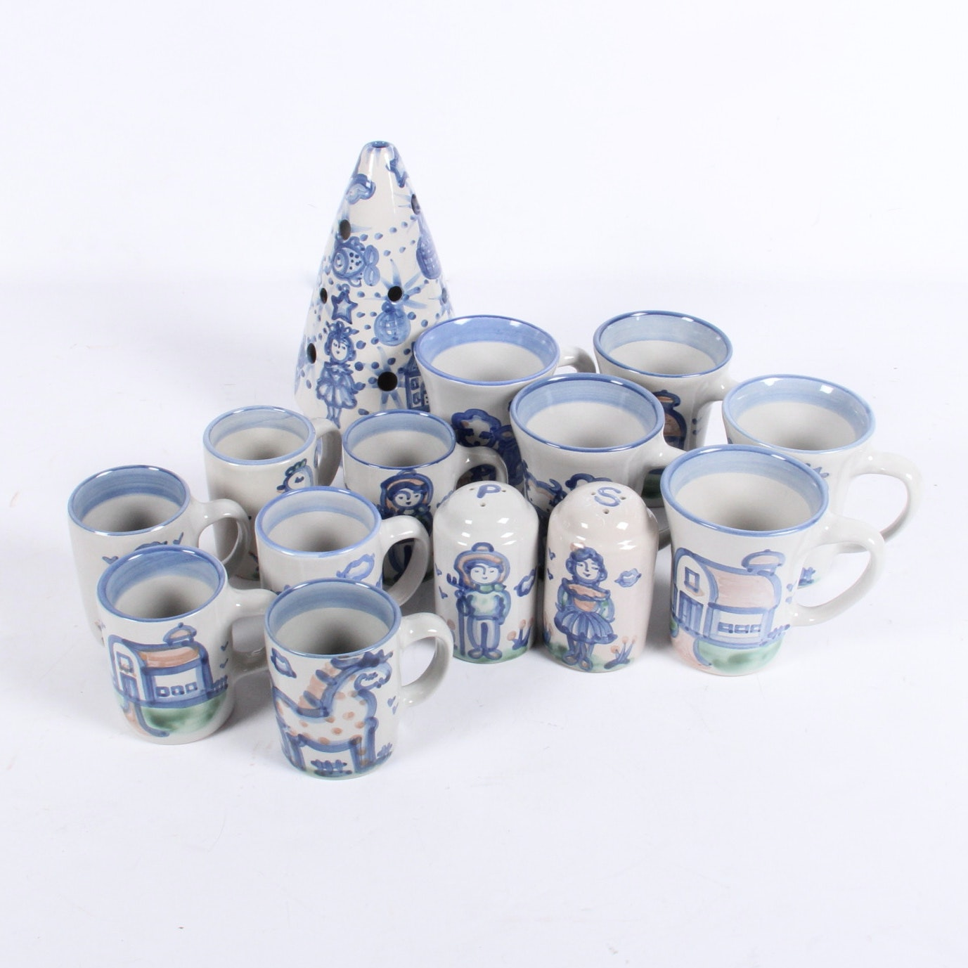 M. A. Haddley Pottery Collection