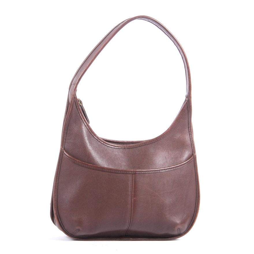955afb56d7f Coach Brown Leather Ergo Hobo Shoulder Bag   EBTH