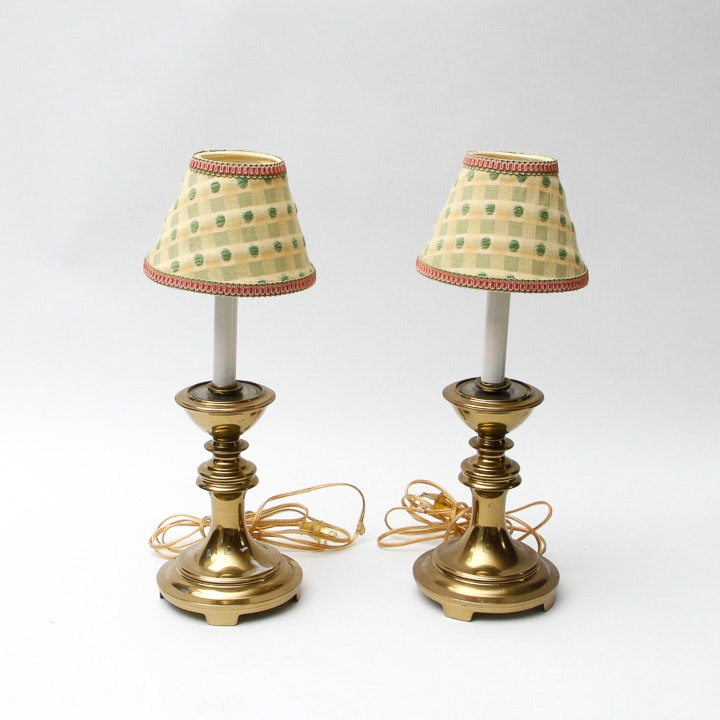 Pair Of Small Accent Table Lamps