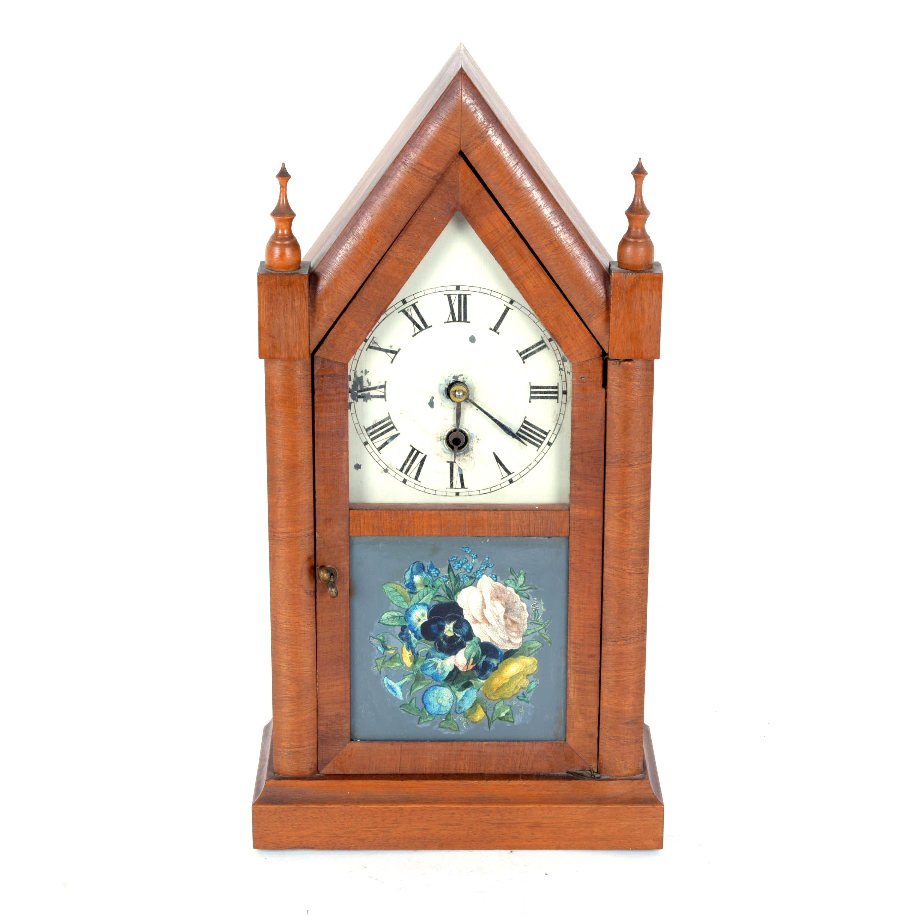 Circa 1850 E.N. Welch Cathedral Clock