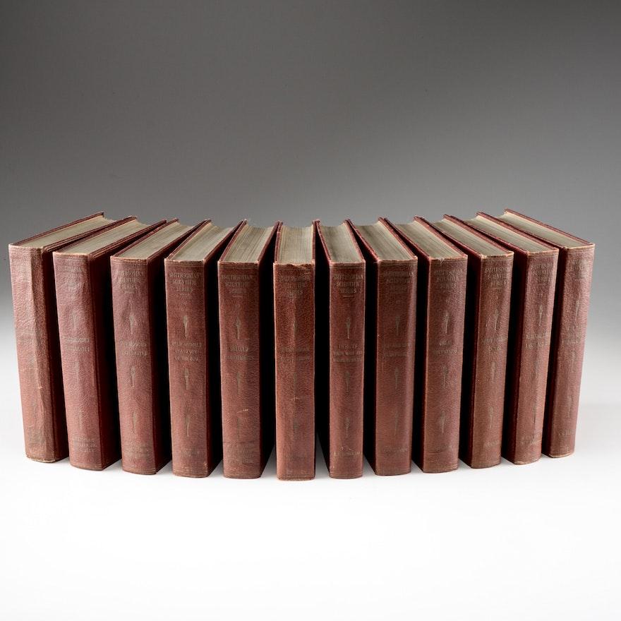 1930s Smithsonian Scientific Series in Twelve Volumes