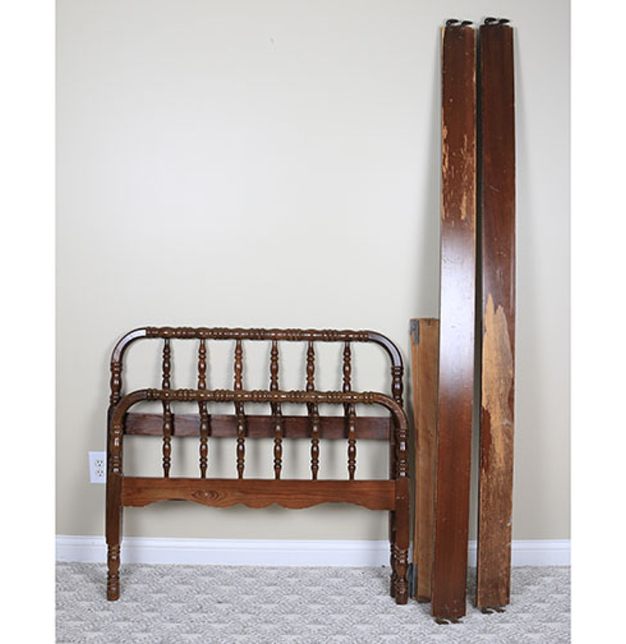 Jenny Lind Style Twin Bed