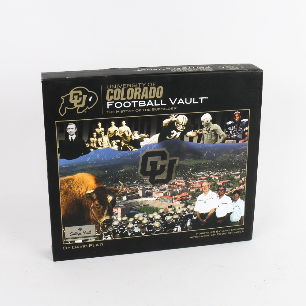 """University of Colorado Football Vault"" Coffee Table Book"
