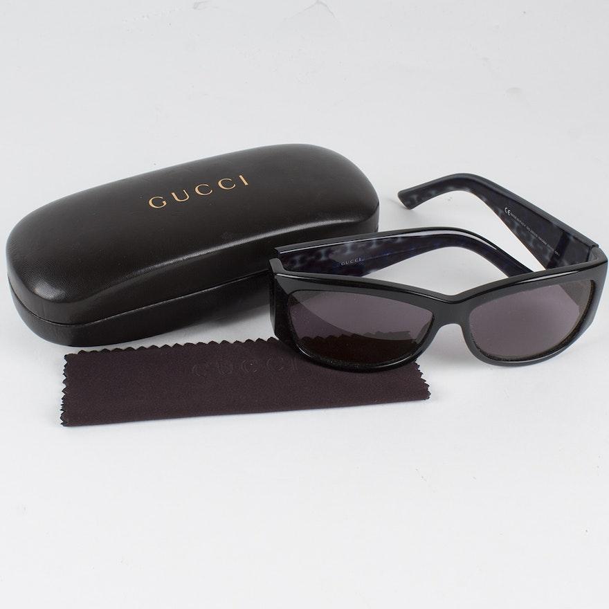 8df515eeb590 Gucci Sunglasses with Case   EBTH