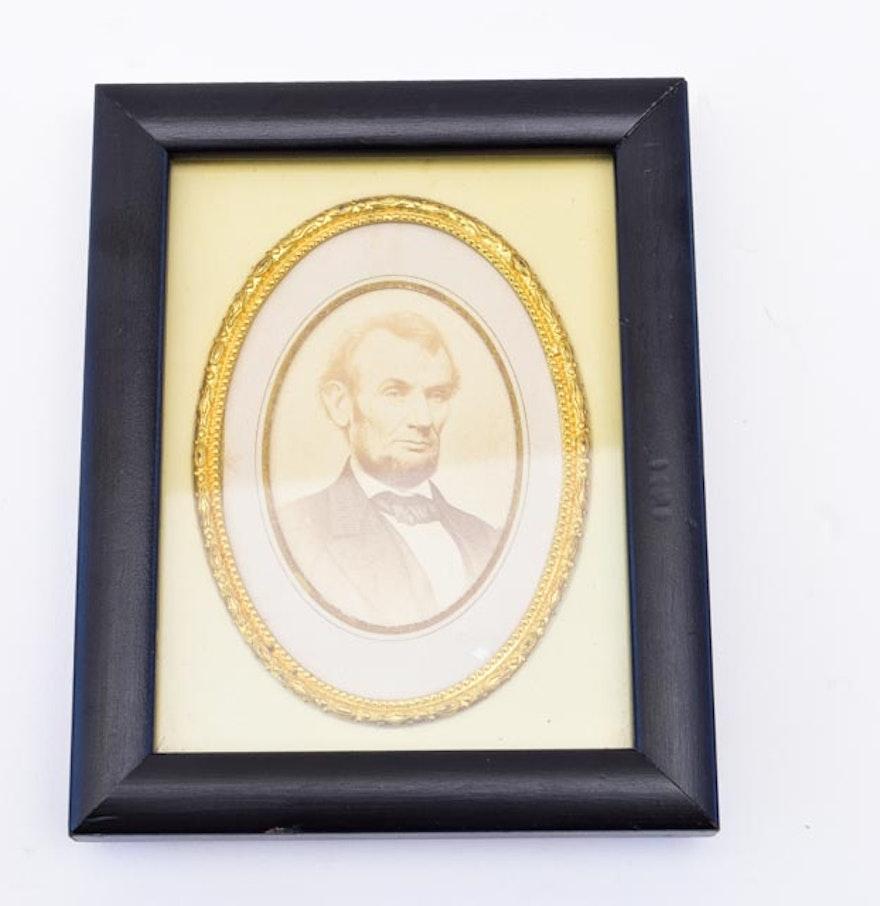 Civil War Era Carte de Visite of Abraham Lincoln : EBTH