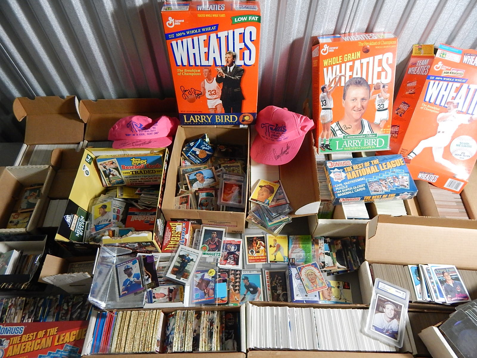 Huge Collection of Approximately 10,000 Sport Cards and More
