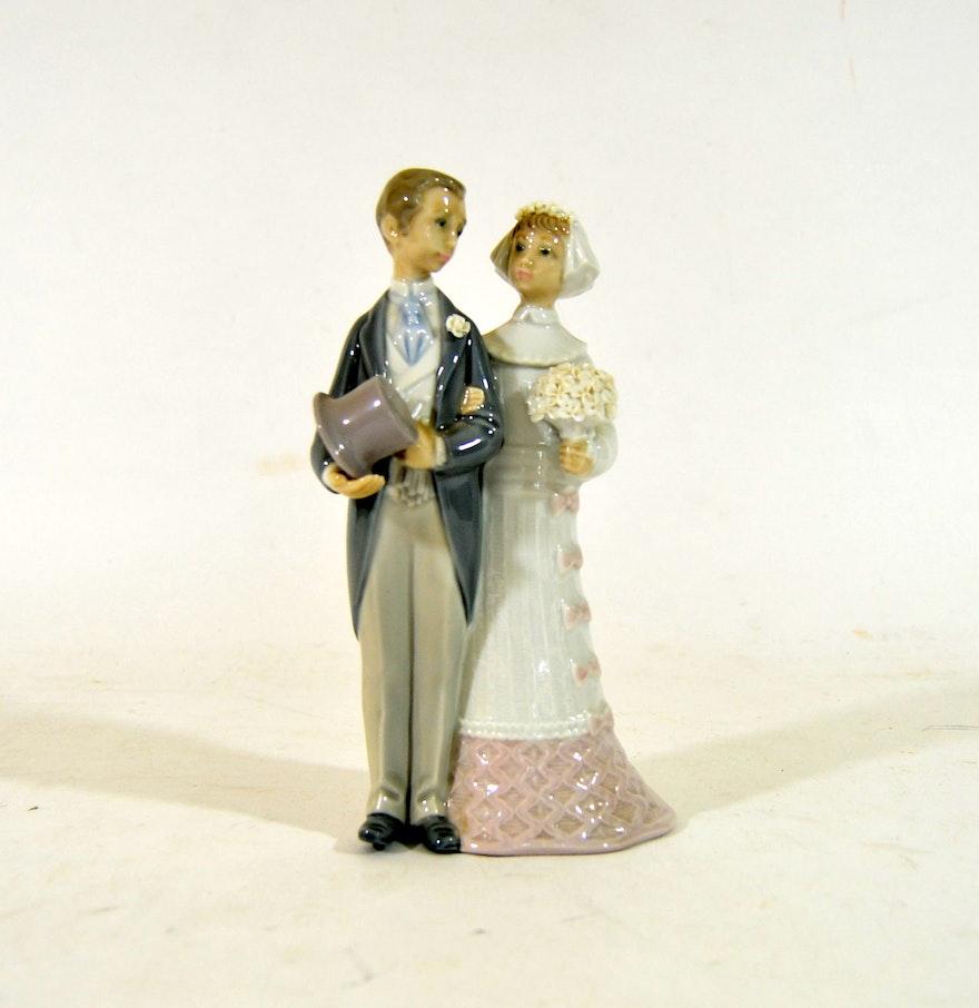 Vintage Lladro Wedding Figurine EBTH