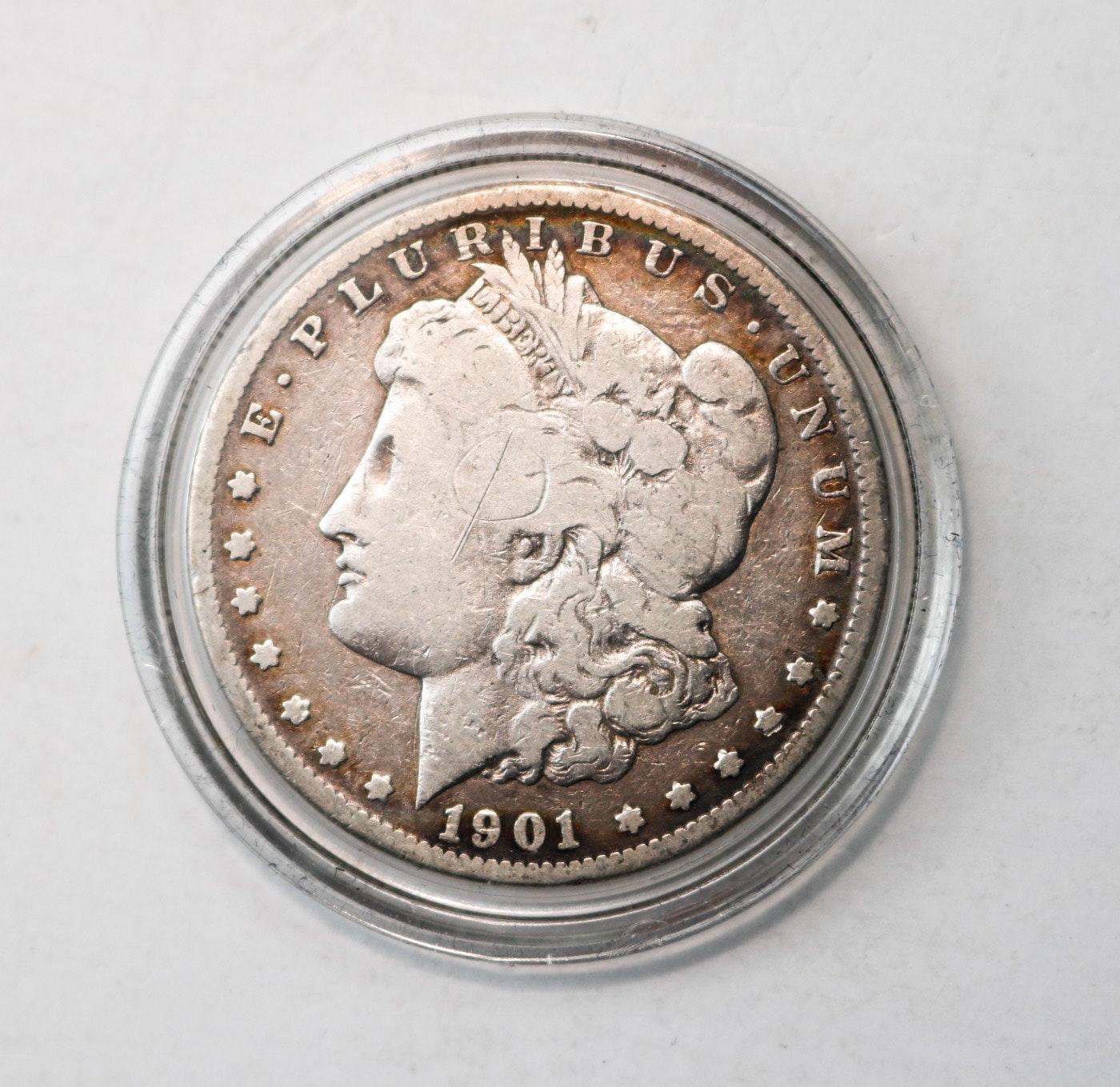 1901-O Morgan Silver Dollar in Presentation Box