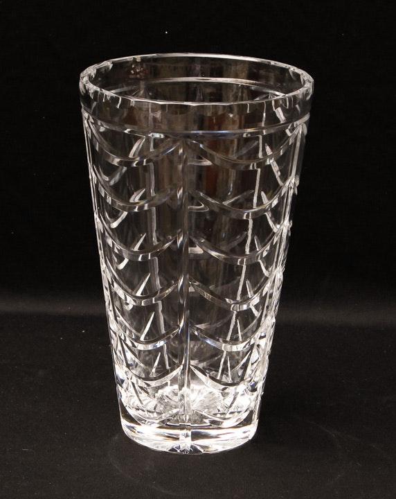Tiffany and Company Royal Brierley Crystal Vase