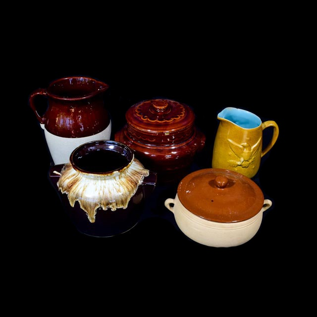 Collection of Stoneware