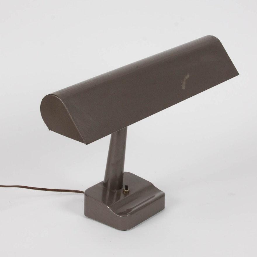 Vintage Industrial Metal Desk Lamp