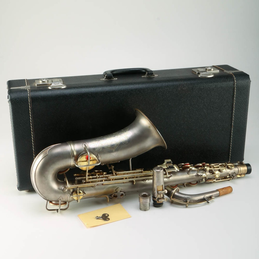 Circa 1915 C G  Conn Alto Saxophone