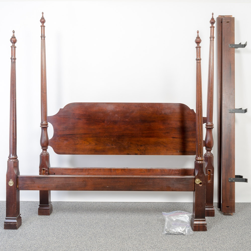 Queen Sized Four Poster Bed Frame