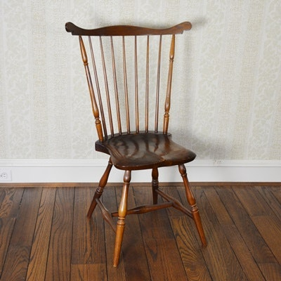 Wright Table Company Fan Back Windsor Side Chair ...