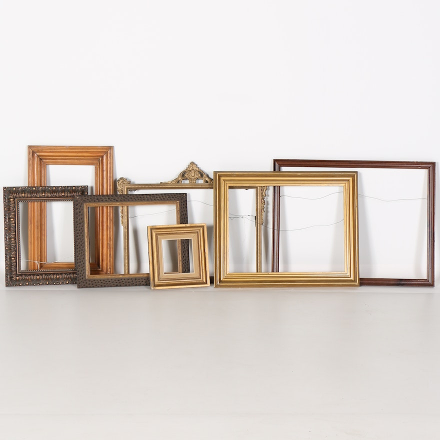 6dd76933a673 Assortment Of Picture Frames   EBTH