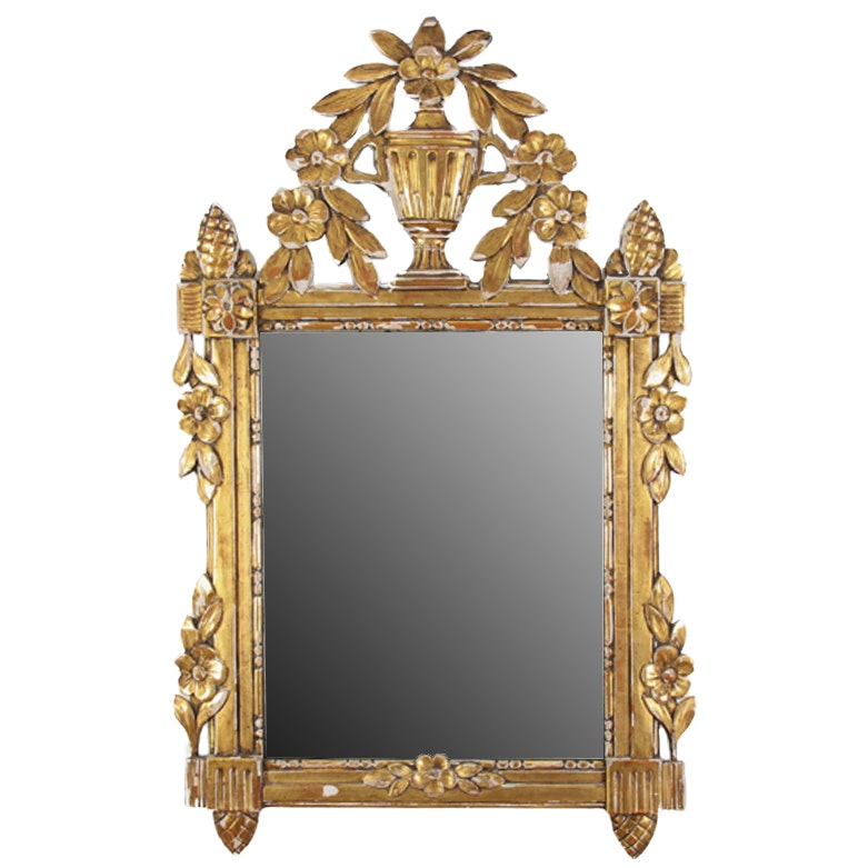 Vintage Gilded Italian Mirror