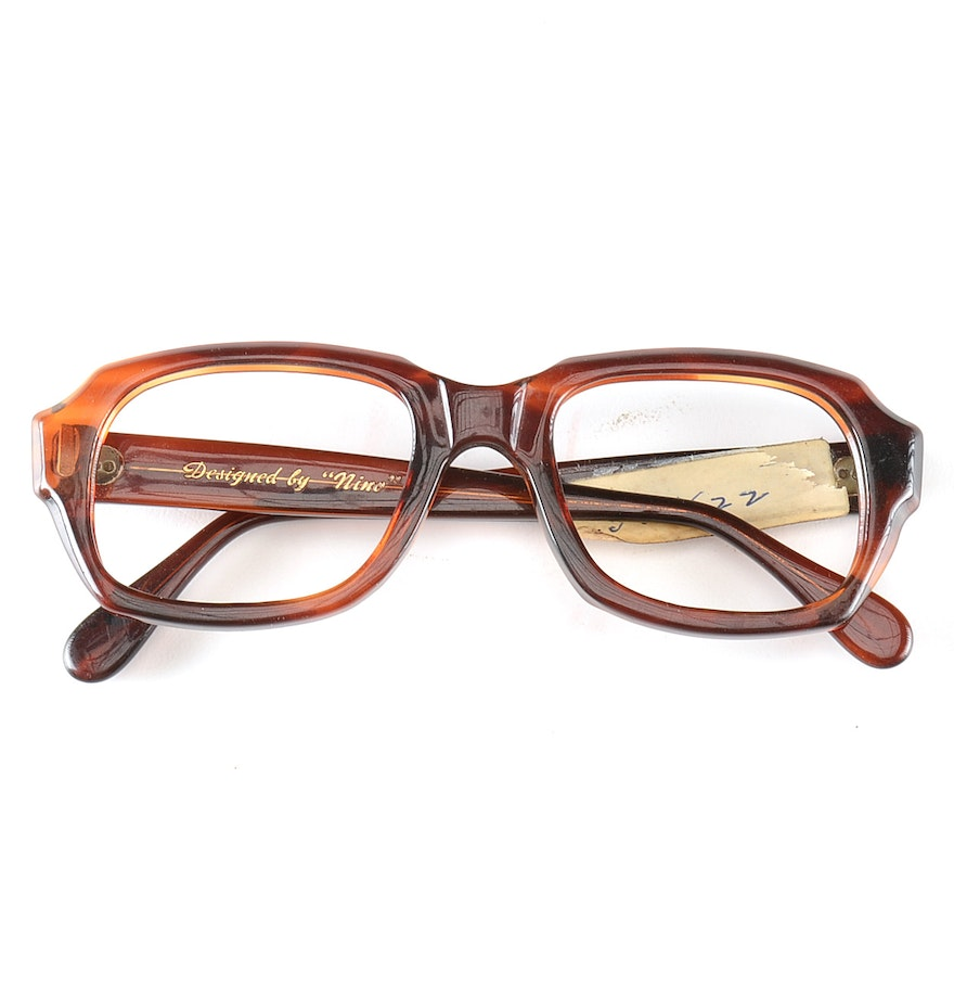 Eyeglass Frames On Consignment : Vintage Designed by