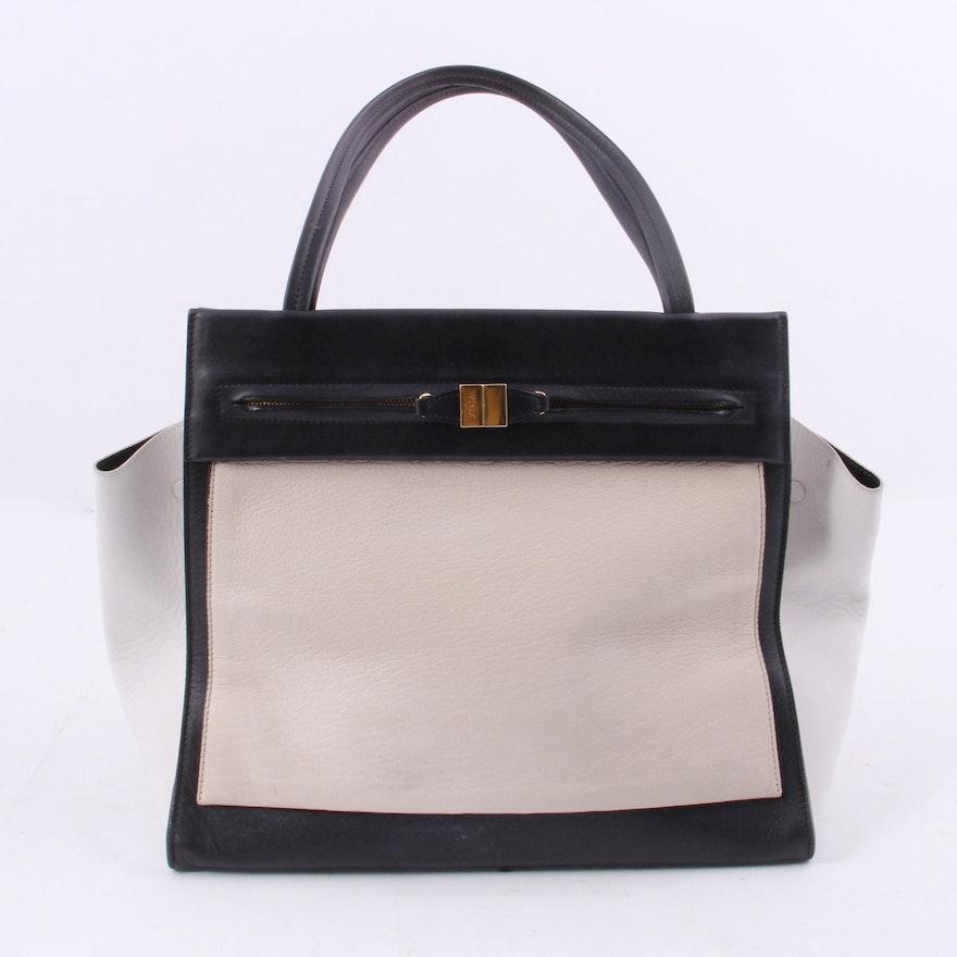 Furla For Saks Fifth Avenue Leather Handbag