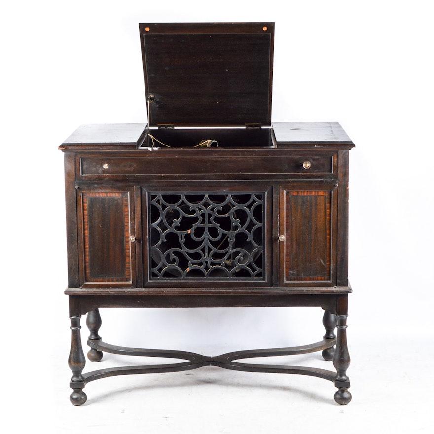 1916 Edison Disc Phonograph Player Cabinet