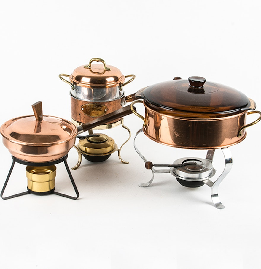 Copper cookware collection ebth for Art and cuisine cookware