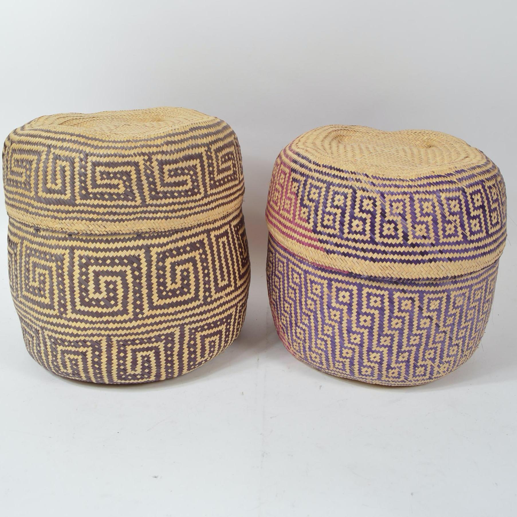 Woven Baskets from Oaxaca