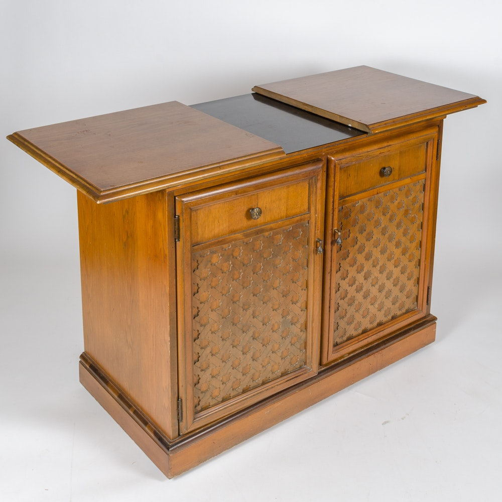 Vintage Record Player Cabinet 92
