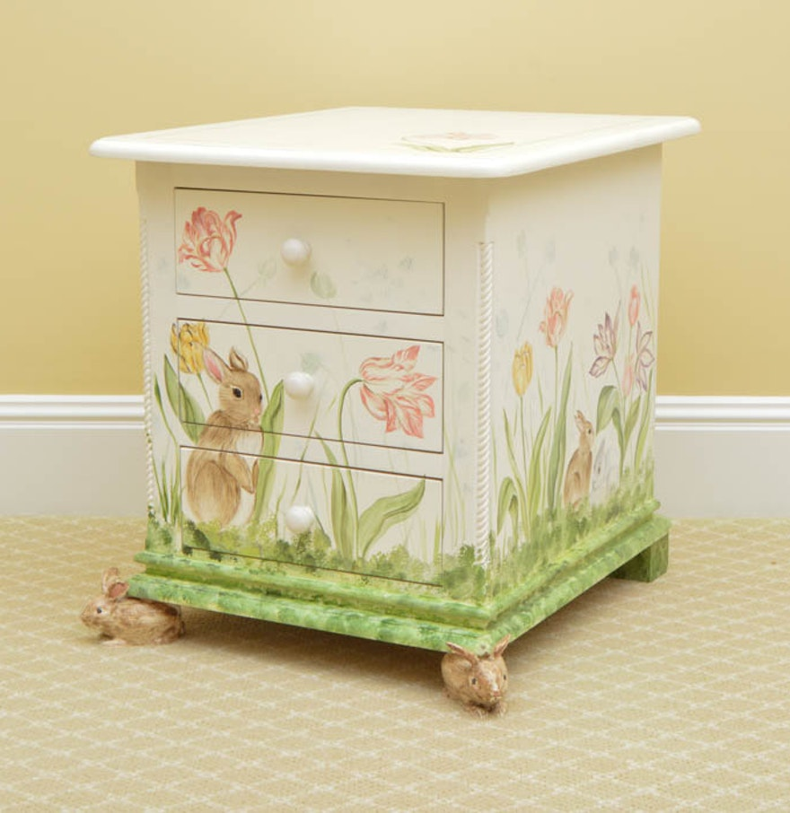 sidney arthur hand painted chest of drawers ebth