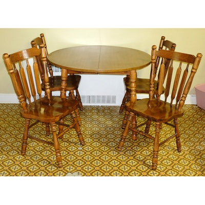 Temple Stuart Rockport Maple Chairs EBTH