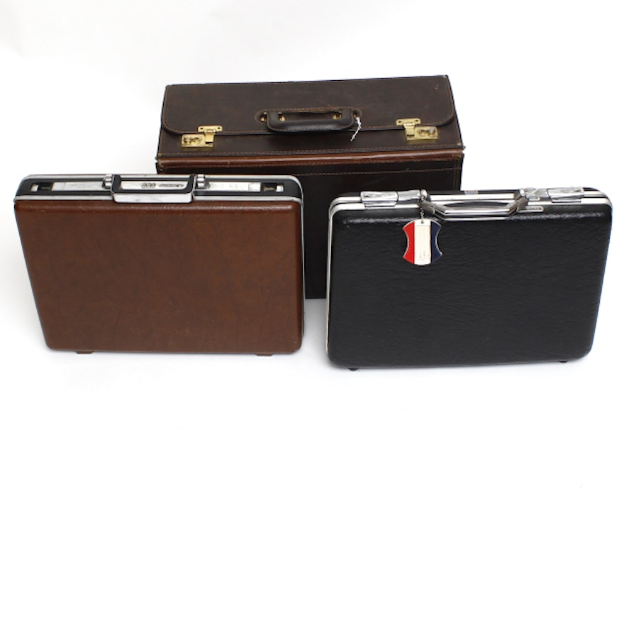 9f5c35d6ad68 Vintage Briefcases and Catalog Case   EBTH