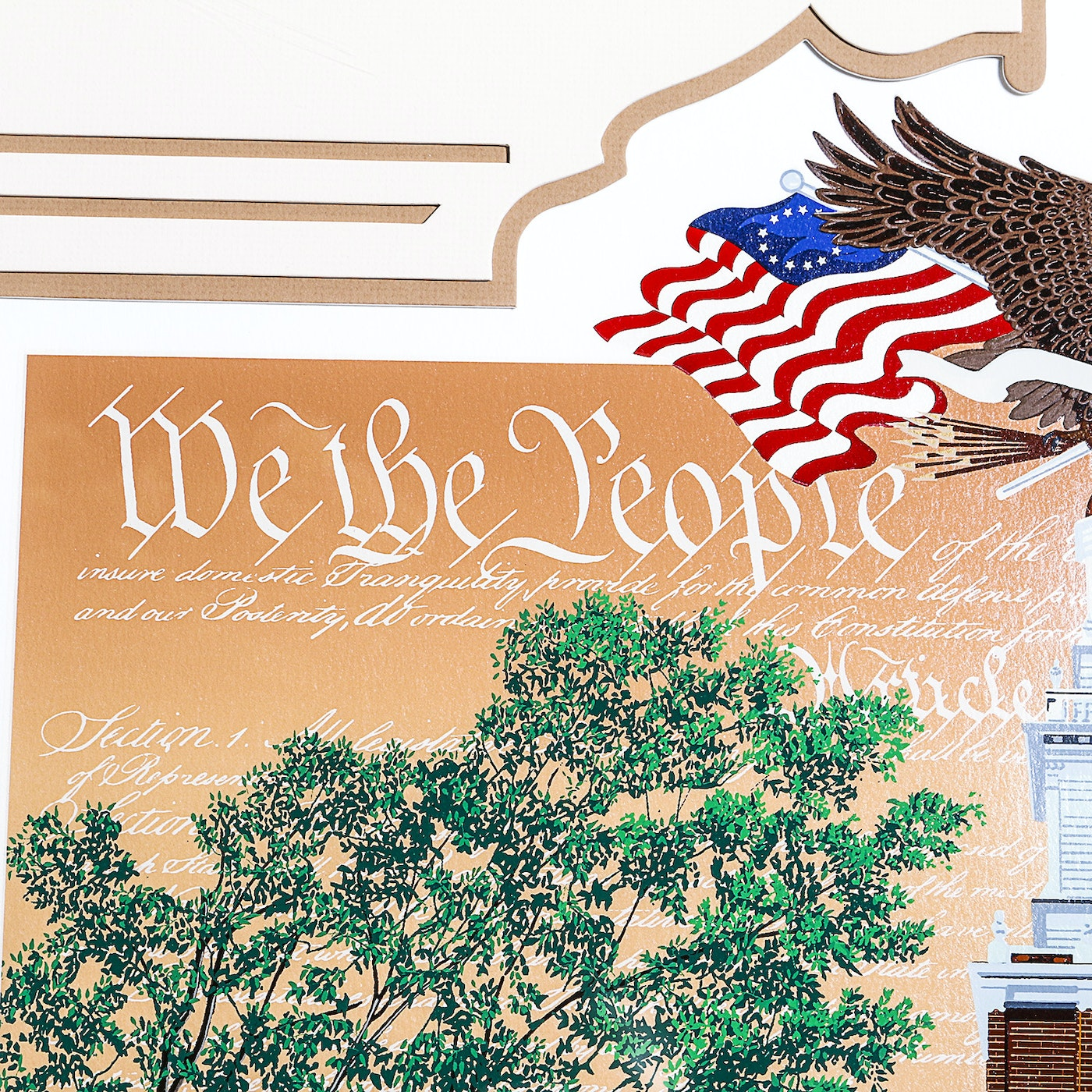 """Melanie Taylor Kent Limited Edition Serigraph """"We The ..."""