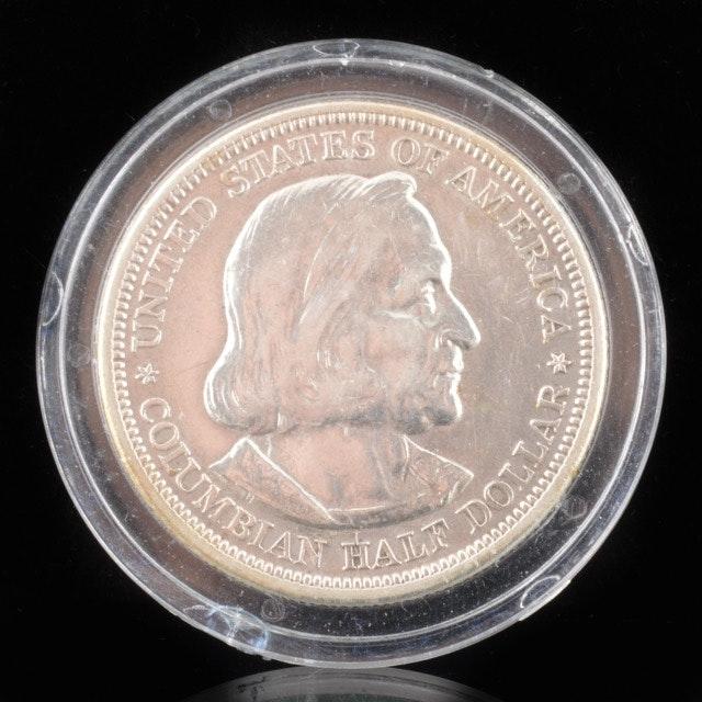1883 World's Fair Columbian Exposition Chicago Commemorative Half Dollar