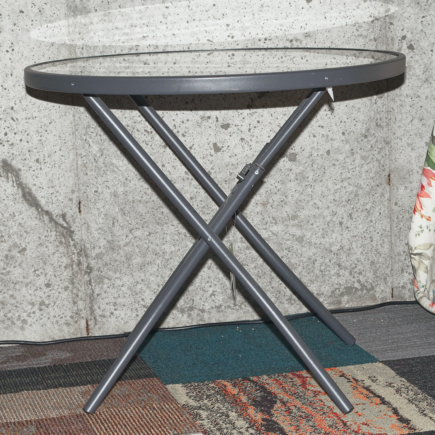 vintage folding table and chair set ebth