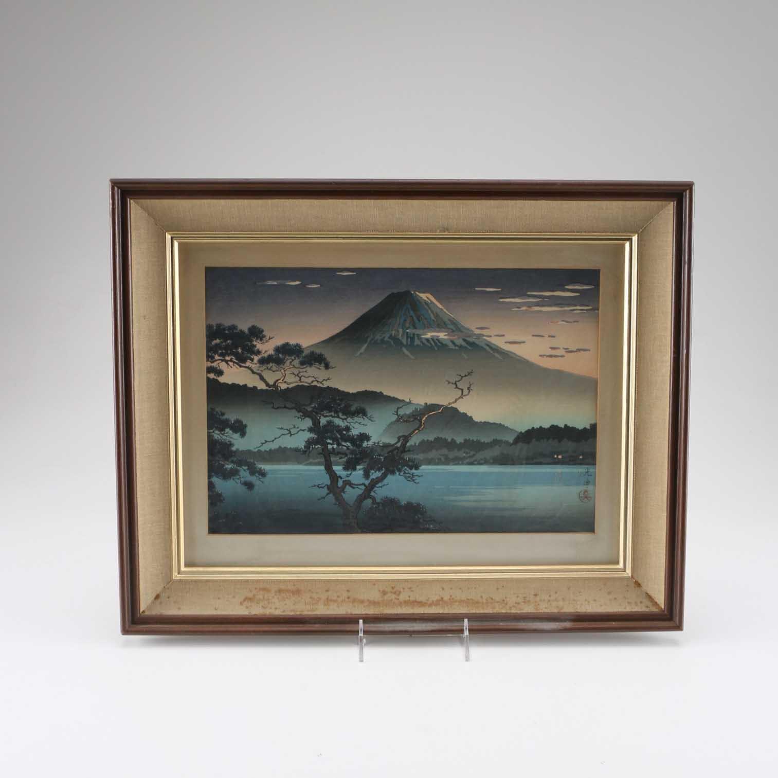 Japanese Shin Hanga Woodblock Print By Tsuchiya Kōitsu Ebth