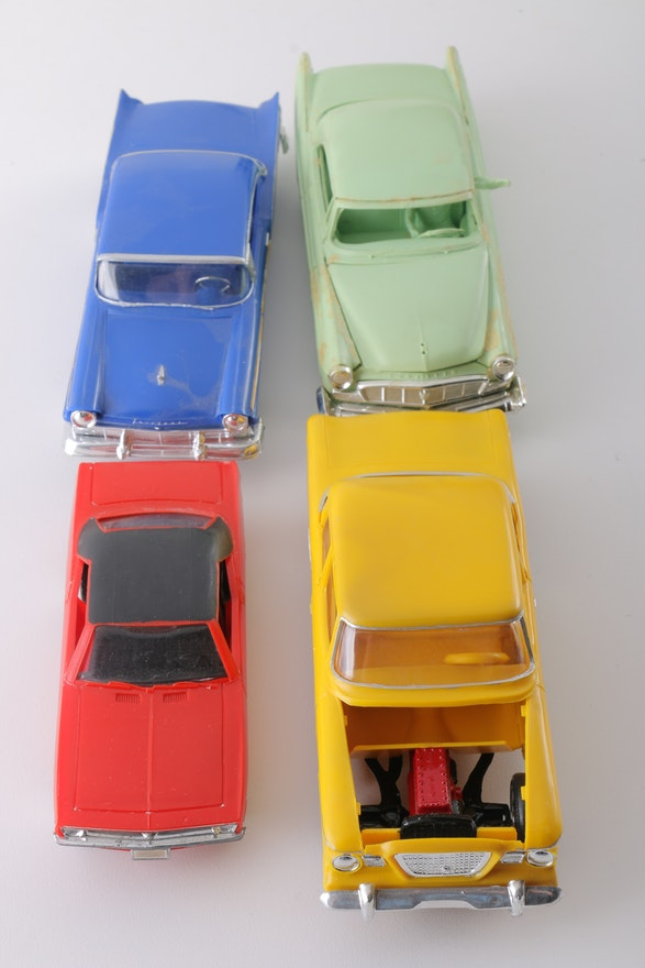 Large Assortment Of Plastic Toy Cars Ebth