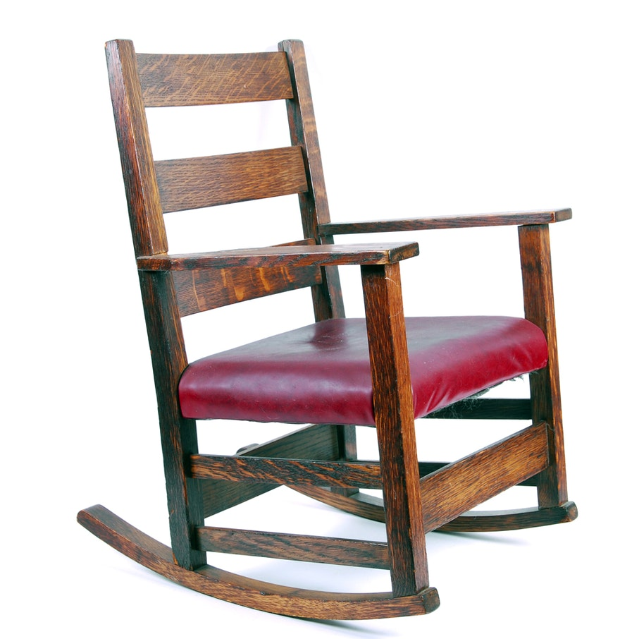 Handmade Rocking Chair for Child : EBTH