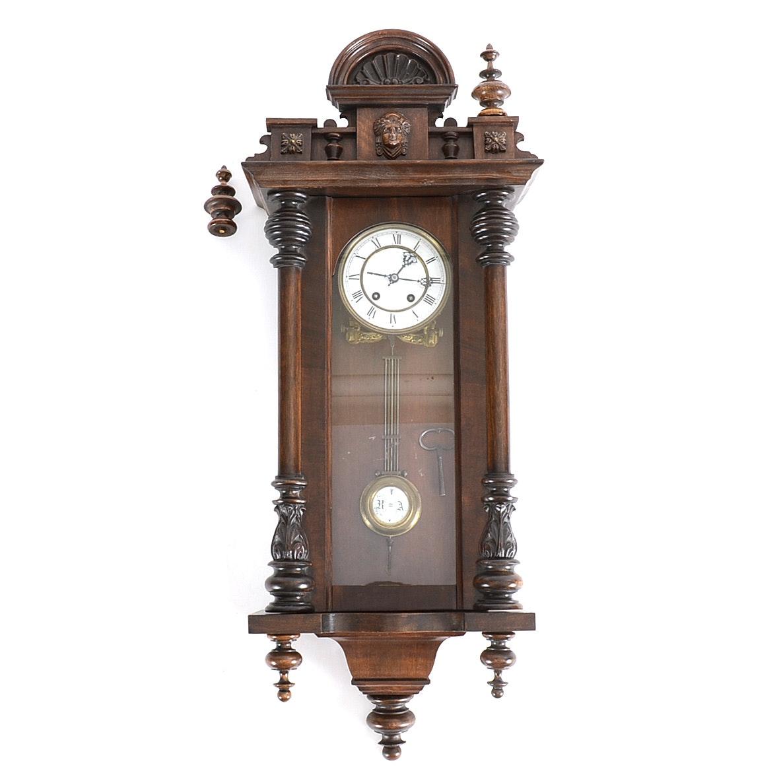 Vintage Wall Mount Clock Ebth