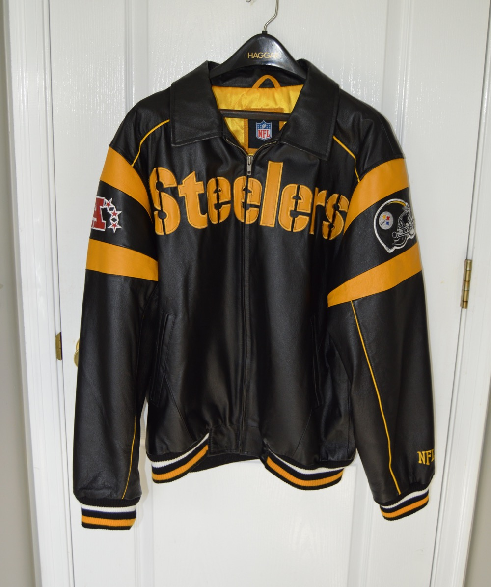 879cccdbb Pittsburgh steelers leather jacket ebth steelers leather coats jpg  1000x1195 Steelers super bowl leather jacket